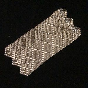Jewelry - Sergio Gutierrez Liquid Metal Silver Mesh Cuff